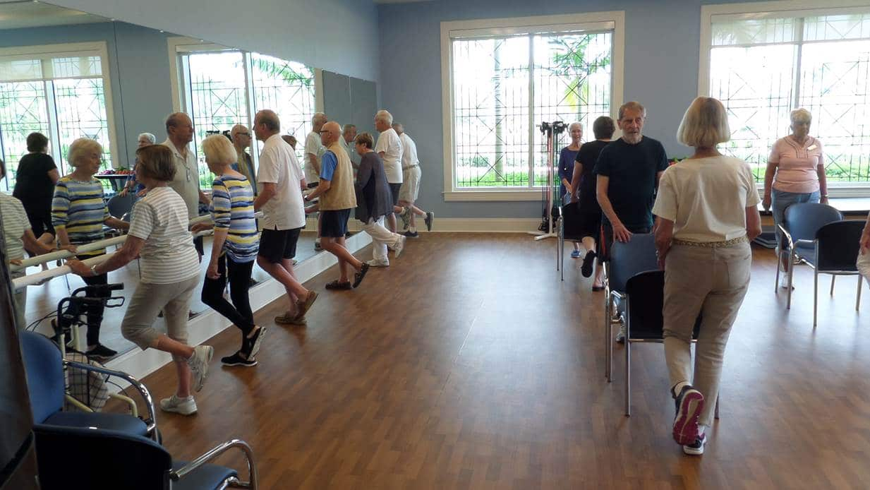 """Living life to the fullest: The Terraces' Vitality Program encourages residents to be """"the best that you can be"""""""