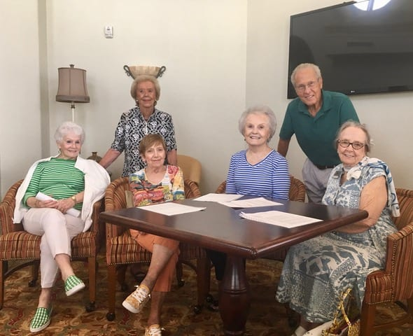 Stars Shine at The Terraces' Readers Theater